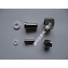 304不锈钢对焊接式压力表接头