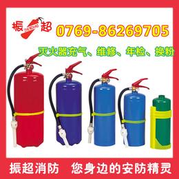 惠州市龙溪镇灭火器充装 充气 换粉 灭火器加压 年检 维修