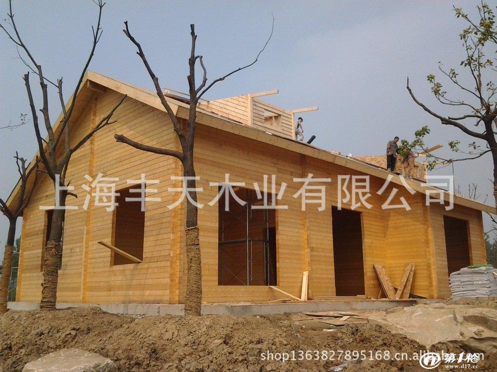 木屋别墅的建造过程 木房子