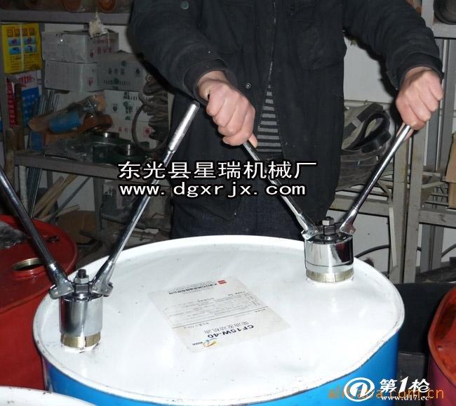供应200l油桶,压盖机,选正规生产厂家
