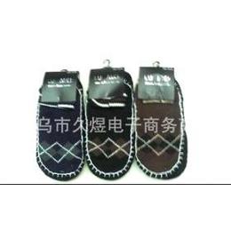 短筒条纹男式地板袜
