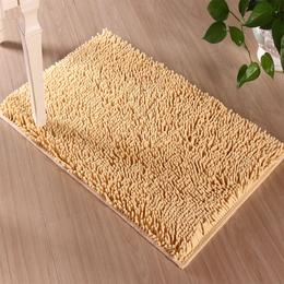 定制 进门地垫入户门垫可爱雪尼尔地毯家用脚垫卫生间防滑垫子