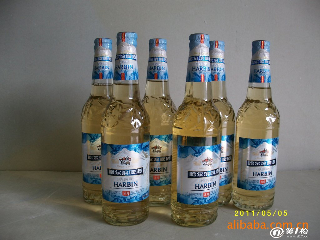哈尔滨冰纯啤酒