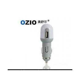 正品 OZIO奥舒尔-USB<em>汽车</em>车载充电器C10-1车载专用<em>手机充电器</em>
