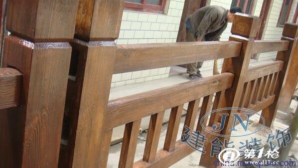欧式栏杆楼梯舞台