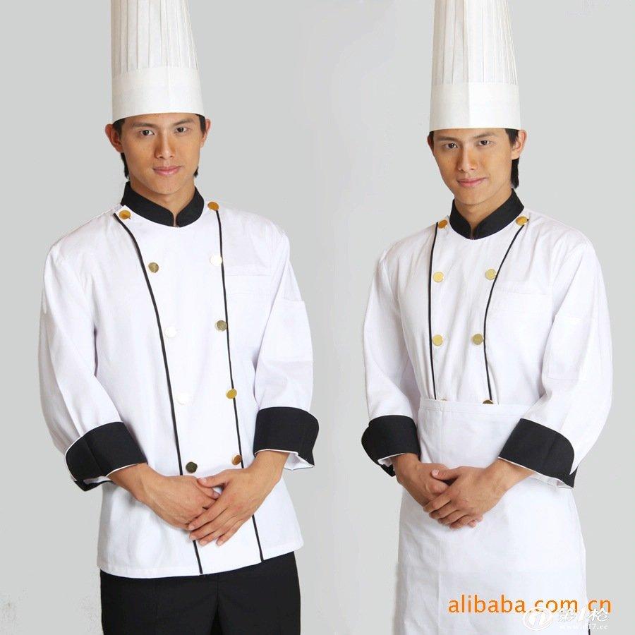 厨师服装夏季 厨师服短袖 酒店厨师工作服 新款特 厨师服定做.