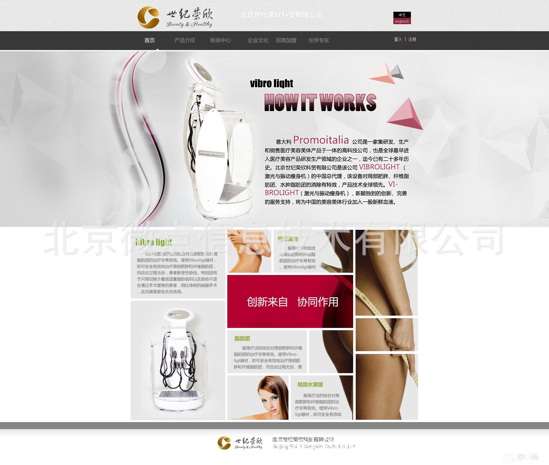 品牌网站设计--北京微点信息技术有限公司