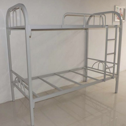 供应厂家直销新款热销员工宿舍上下铁床耐用 员工宿舍铁床价格