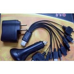 大量批发USB手机充电<em>数据线</em> 多功能<em>手机充电器</em>