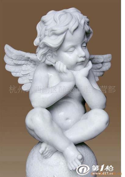 小天使雕塑《专业加工》图片
