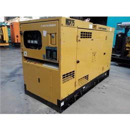 进口三菱静音型16kw二手柴油发电机组现货小功率出售
