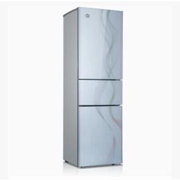 格力晶弘冰箱玻璃三门 彩虹镶钻白色 正品