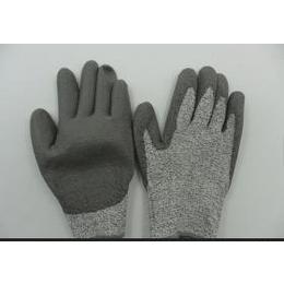 广东深圳厂家直供迪尼玛浸乳胶手套 HHPE耐磨防割手套 防撕裂手套