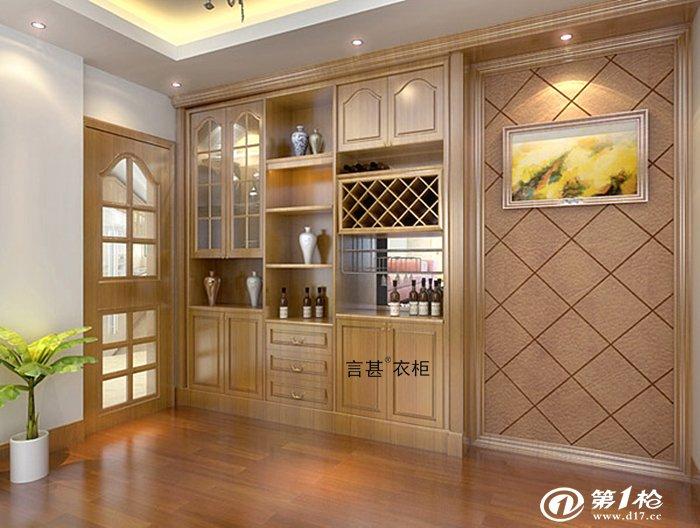 入墙式欧式酒柜图片