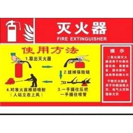 消防栓使用说明标识牌