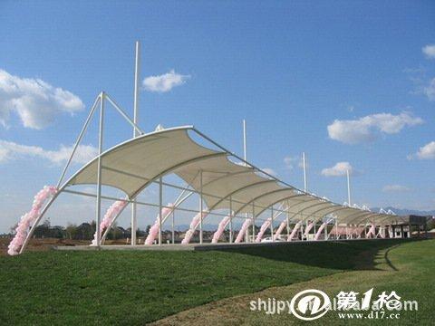 承接钢结构阳光板膜结构车棚车篷车蓬免费上门测量