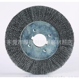5寸孔平型钢丝轮 野牛牌钢丝轮 拉丝轮 展开轮 利圳五金厂直销