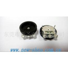 供应广东1001G双联电位器,耳机专用拨盘电位器,开关电位器