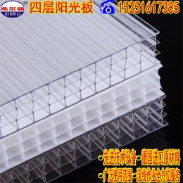 泸州批发聚碳酸酯中空板卡布隆中空阳光板采用进口原料生产