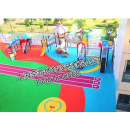 虹口幼儿园塑胶地坪铺设材料