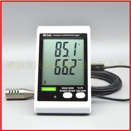 仓储室内专业大屏幕温湿度记录仪DWL-20E