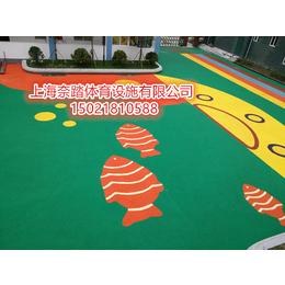 无为幼儿园塑胶地坪施工厂家