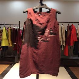 品牌女装品素 中长款品牌折扣女装走份 2016夏季女装外套