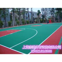 郑州塑胶篮球场厂家材料