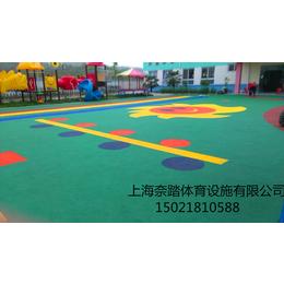 许昌幼儿园塑胶地坪承建做法