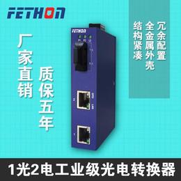 安徽工业交换机飞崧通讯ESD1031光2电工业交换机