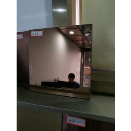 浙江厂家定制褐色镜面不锈钢板8k镜面板定制价格优惠