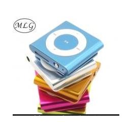 一比一6代夹子MP3 播放器 插卡小夹子MP3 纯金属插卡MP3