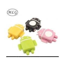 安卓机器人MP3 深圳MP3厂家直销 礼品MP3 无屏插卡MP3