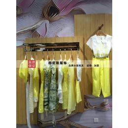 简约风情夏装品牌折扣女装超低价批发