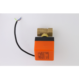 直销 DN20电动温控阀 电动执行器 温控阀门 温控阀门