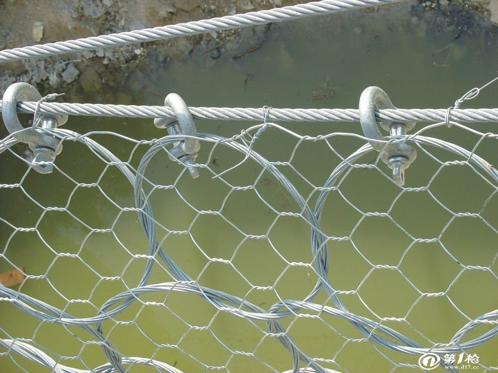 金督生产菱形环形防护网山体滑坡蜘蛛防护网主动被动边坡防护网