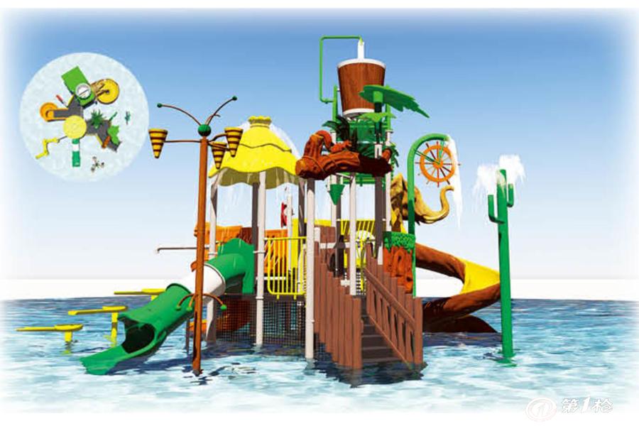 厂家直销批发价供应儿童乐园组合滑梯水上滑梯滑道