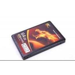 龙钻SSD 固态硬盘 64G SATA3 60G SF2281 读写470M/S 带缓存