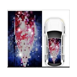 车顶天窗贴/个性涂鸦风格/涂鸦贴纸 个性贴 带气槽(无需裁剪)