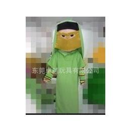 定做卡通人偶服裝,行走人偶 毛絨卡通阿拉伯婦女縮略圖