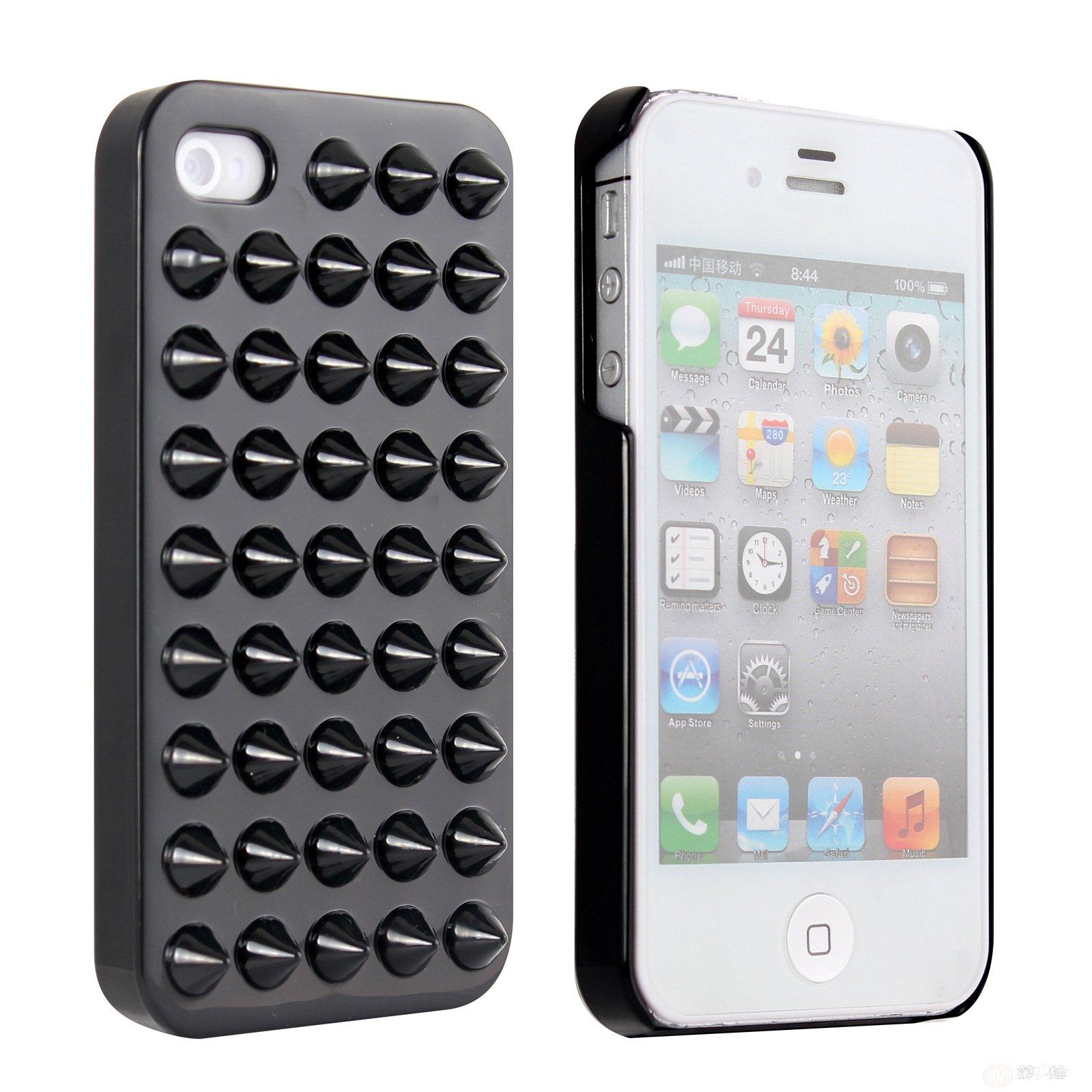 苹果iphone 4s 手机保护壳 punk style candy color case