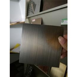 江苏拉丝仿青古铜不锈钢板定制