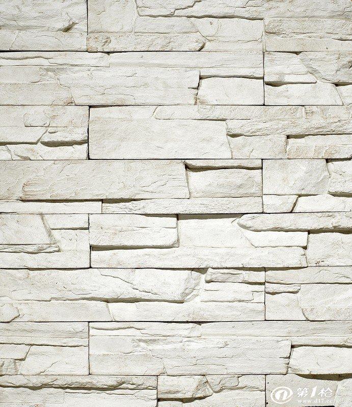 礁岩石-人造文化石 外墙砖 白色砖