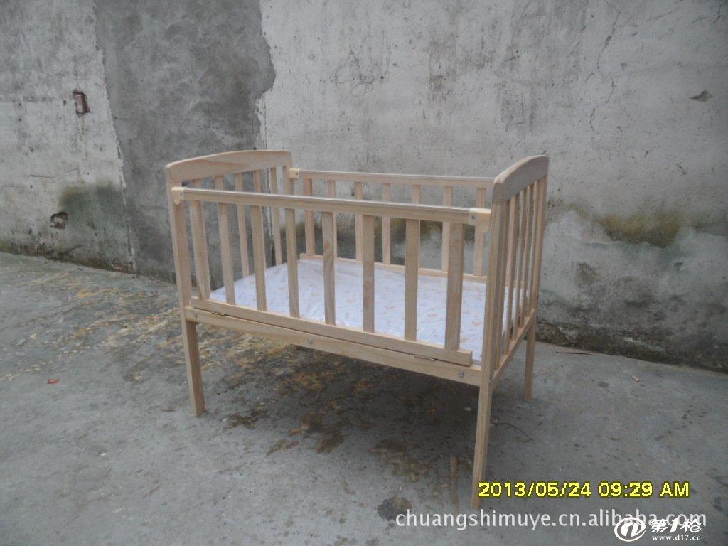 儿童床,童床  产地:上海  木质:新西兰松  工艺:手工制作   包装:纸箱