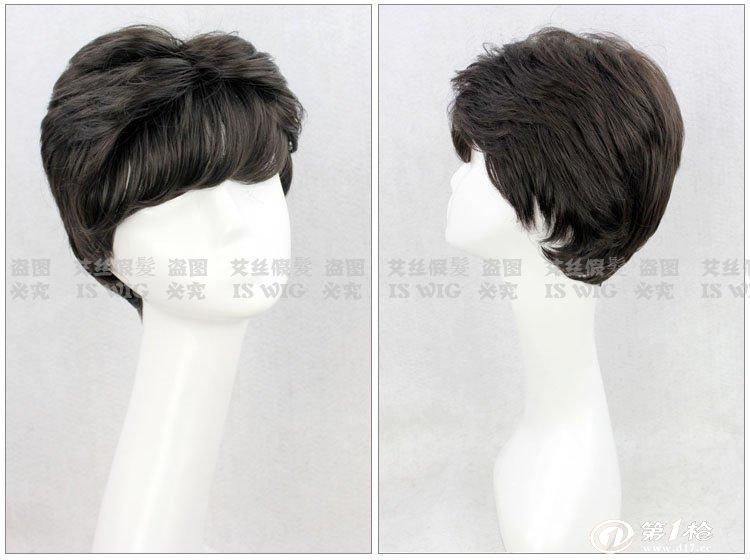 中老年假发 女式假发 假发套 短发 卷 蓬松 短卷发 妈妈 老人假发图片图片