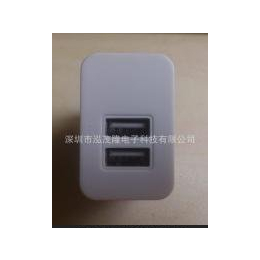 5V4.2A双USB智能充电器、IPAD平板充电器、双USB<em>旅行</em><em>手机充电器</em>