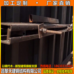 辽宁厂家定制供应剪力墙模板支撑钢背楞加固件保证质量