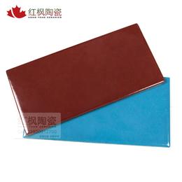 国内国外游泳池工程 专业泳池砖 全瓷质天彩色游泳池砖