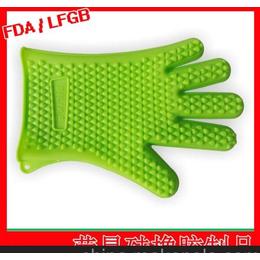 定制五指烤箱硅胶手套