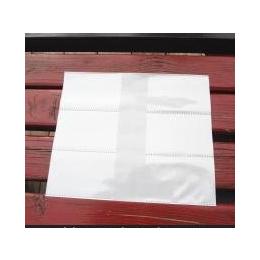 【低价定做】乳白色6格PP名片袋卡片袋
